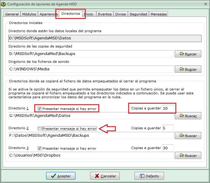 AgendaMSD12.2: guardar fichero empaquetado