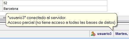 Empleados MSD 410 - Usuario conectado al servidor