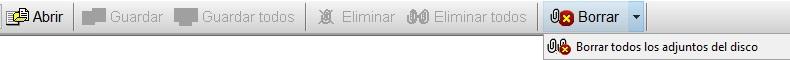 Agenda MSD 13.7 borrar ficheros adjuntos del disco